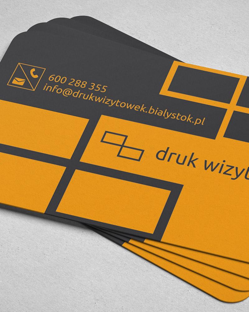 Projekty wizytówek Białystok