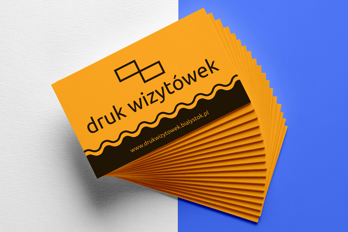 Projektowanie oraz druk wizytówek w Białymstoku