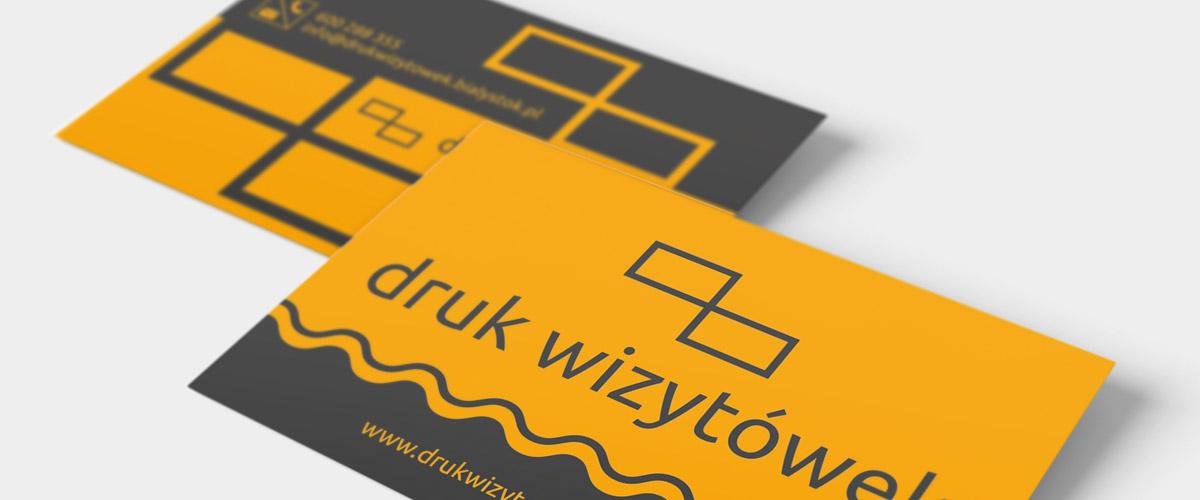 Wizytówki foliowane: folia mat - Drukarnia Białystok